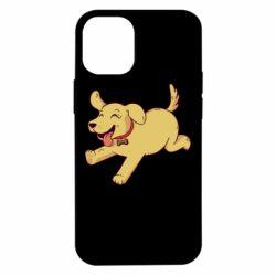 Чехол для iPhone 12 mini Golden retriever