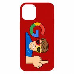 Чохол для iPhone 12 mini Google guy Fuck You