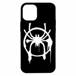 Чохол для iPhone 12 mini Graffiti Spider Man Logo