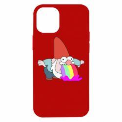 Чохол для iPhone 12 mini Gravity Falls, dwarf and rainbow