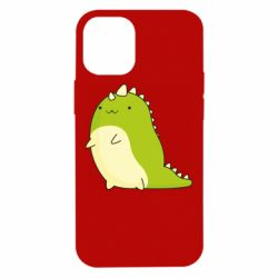 Чохол для iPhone 12 mini Green dinosaur