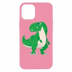 Чохол для iPhone 12 mini Green little dinosaur