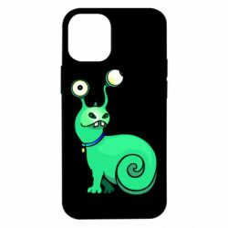Чехол для iPhone 12 mini Green monster snail