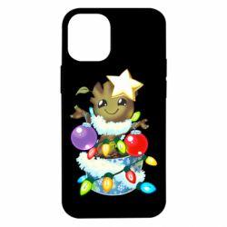 Чохол для iPhone 12 mini Groot in the garland