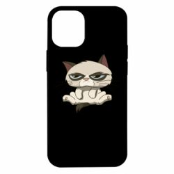 Чохол для iPhone 12 mini Grumpy Cat Art nope