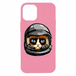 Чехол для iPhone 12 mini Grumpy Cat Astronaut