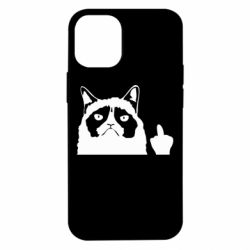 Чохол для iPhone 12 mini Grumpy cat F**k Off