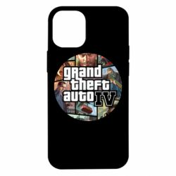Чехол для iPhone 12 mini GTA 4 Logo