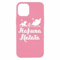Чохол для iPhone 12 mini Hakuna Matata