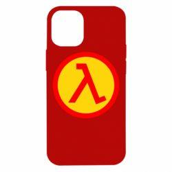 Чехол для iPhone 12 mini Half Life Logo