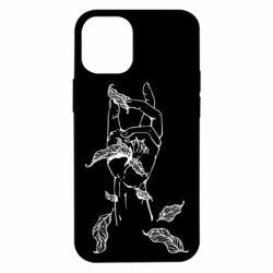 Чохол для iPhone 12 mini Hand with leafs