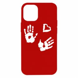 Чехол для iPhone 12 mini Hands and heart