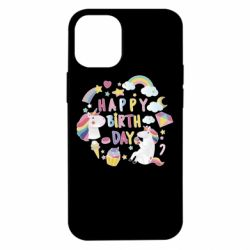 Чехол для iPhone 12 mini Happy birthday 1