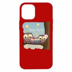 Чохол для iPhone 12 mini Happy family