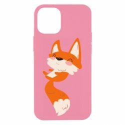 Чехол для iPhone 12 mini Happy fox