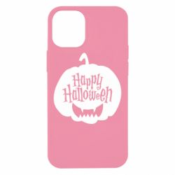Чехол для iPhone 12 mini Happy halloween smile