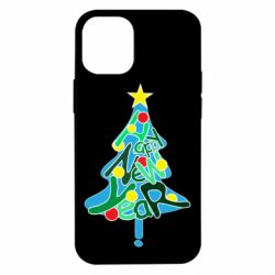 Чохол для iPhone 12 mini Happy new year on the tree