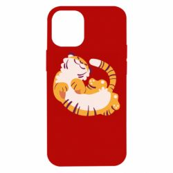 Чохол для iPhone 12 mini Happy tiger