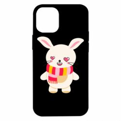 Чехол для iPhone 12 mini Hare and heart