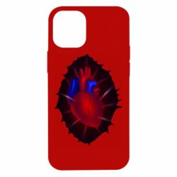 Чехол для iPhone 12 mini Heart and blood vessels