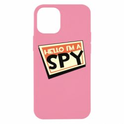 Чохол для iPhone 12 mini Hello i'm a spy