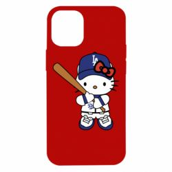 Чохол для iPhone 12 mini Hello Kitty baseball