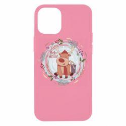 Чехол для iPhone 12 mini Hello winter!