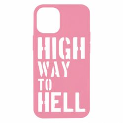 Чехол для iPhone 12 mini High way to hell