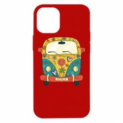 Чохол для iPhone 12 mini Hippie bus