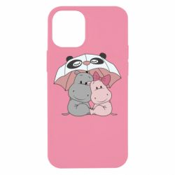 Чохол для iPhone 12 mini Hippos