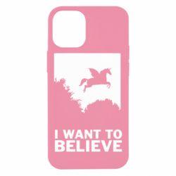 Чохол для iPhone 12 mini Хочу вірити в єдинорогів