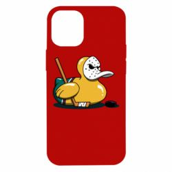 Чохол для iPhone 12 mini Hockey duck