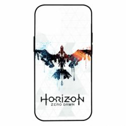 Чехол для iPhone 12 mini Horizon Zero Dawn low poly
