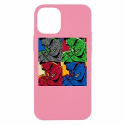 Чехол для iPhone 12 mini Hulk pop art