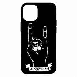 Чехол для iPhone 12 mini I don't care 1