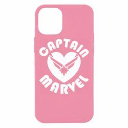 Чохол для iPhone 12 mini I love Captain Marvel