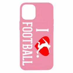 Чохол для iPhone 12 mini I love football