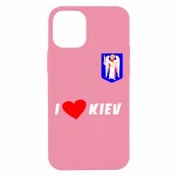 Чохол для iPhone 12 mini I love Kiev
