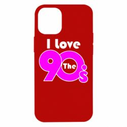 Чохол для iPhone 12 mini I love the 90