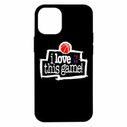 Чехол для iPhone 12 mini I love this Game