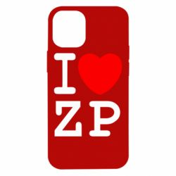 Чохол для iPhone 12 mini I love ZP