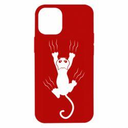 Чохол для iPhone 12 mini кот когти