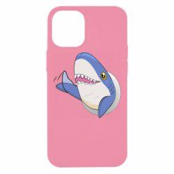 Чехол для iPhone 12 mini Ikea Shark Blahaj