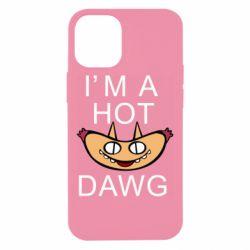 Чехол для iPhone 12 mini Im hot a dawg