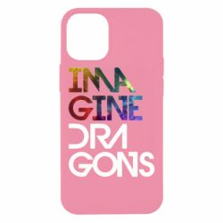 Чехол для iPhone 12 mini Imagine Dragons and space