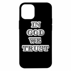 Чехол для iPhone 12 mini In god we trust