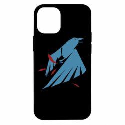 Чехол для iPhone 12 mini Infamous: Second Son - Karmic titles two blue