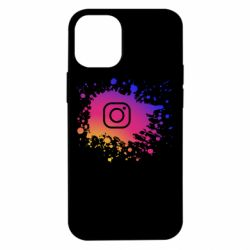 Чехол для iPhone 12 mini Instagram spray