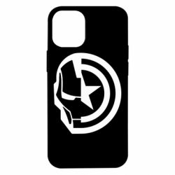 Чохол для iPhone 12 mini Iron Man and Captain America
