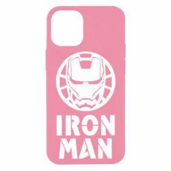 Чохол для iPhone 12 mini Iron man text